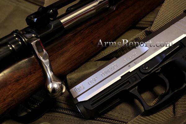 HK USP Compact 45 SS with a Custom Paul Jaeger Mauser